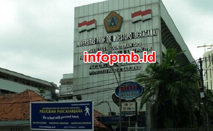 Jadwal Penerimaan Mahasiswa Baru Universitas Prof Dr Moestopo