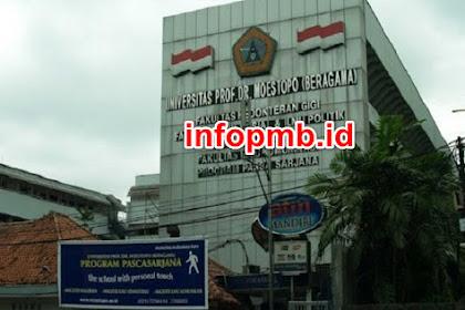 Pendaftaran Mahasiswa Baru Universitas Prof Dr Moestopo 2021-2022