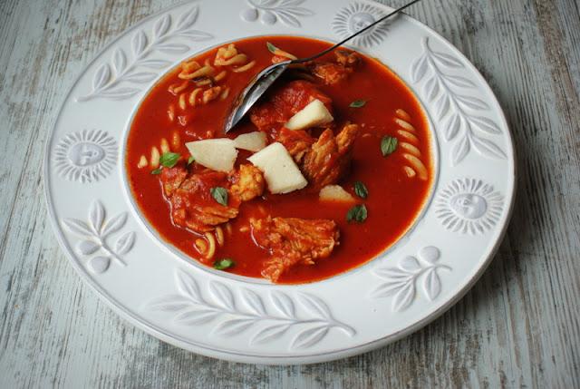 łowicz,passata di pomodoro,przecier z pomidorów,żeberka wieprzowe,zupa pomidorowa,makaron,parmezan