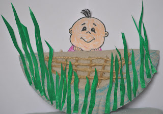 Baby Moses In A Basket Crafts And Handmade Pretties