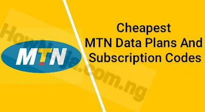 Cheapest MTN Data Plans And Subscription Codes