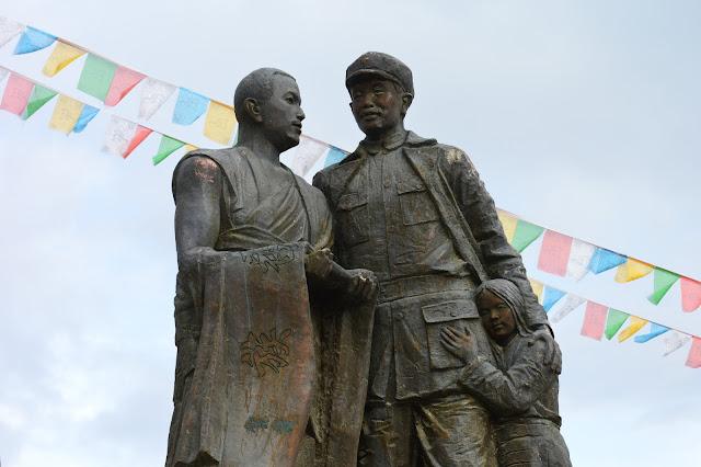 Statue à Shangri-La