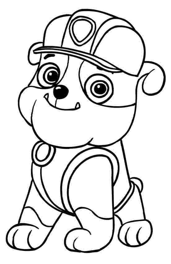 Paw patrol coloring pages 44
