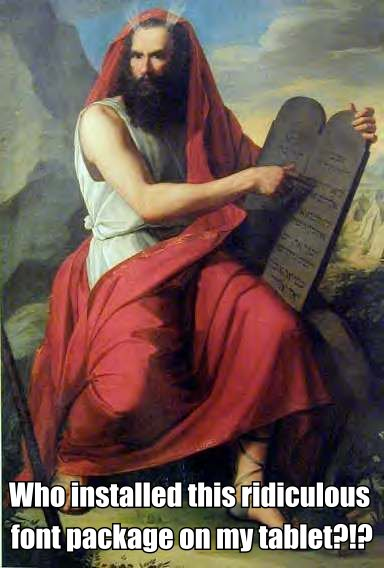 Funny Moses table meme picture