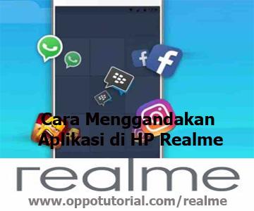 Cara Menggandakan Aplikasi di HP Realme