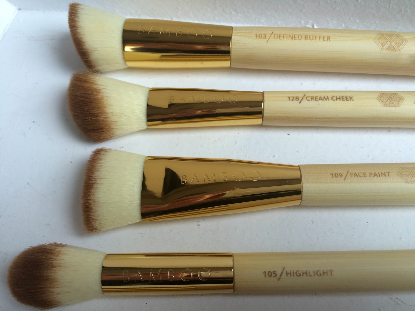 zoeva bamboo vol 2 face brushes