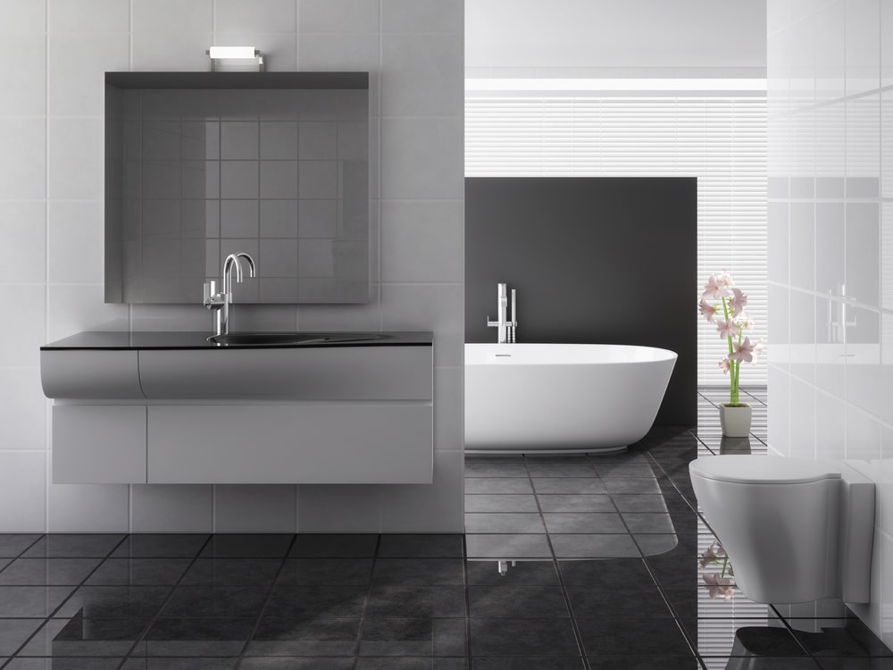 bathroom tiling services in Newcastle