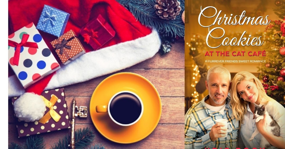 #Christmas Cookies at the Cat Café: A #sweetromance with cats, baking, and #holiday traditions
