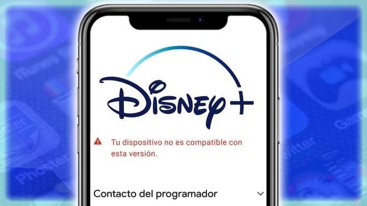 Cómo instalar Disney Plus en teléfonos no compatibles