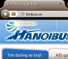 tìm đường xe buýt Hà Nội