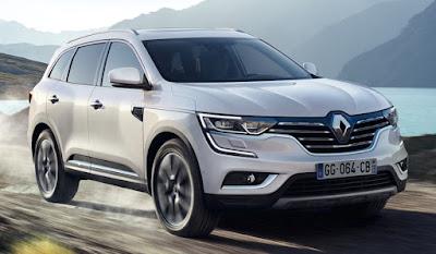 New 2017 Renault Koleos Facelift in road Hd Photos