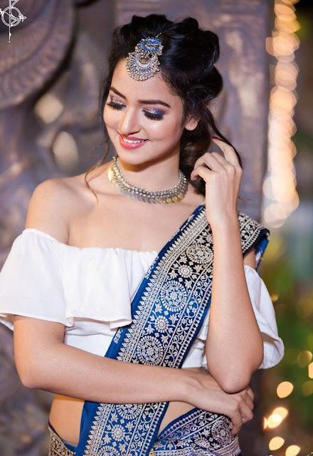 Actress Shanvi Srivastava Latest Cute Photoshoot Pics Navel Queens