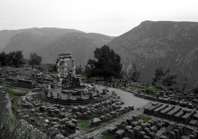 Ruinas del templo de Atenea_Delfos