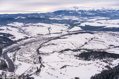 Dolina Dunajca między Pieninami a Tatrami