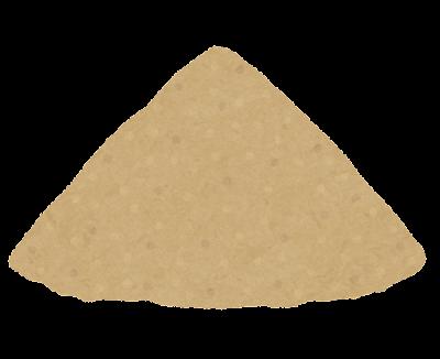 砂山のイラスト