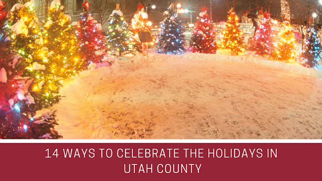 14 Ways to Celebrate the Holidays in Utah County blog cover image