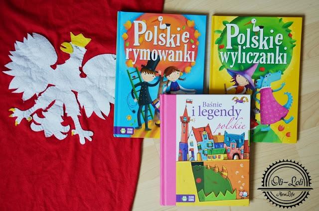 3 książki dla małego Polaka