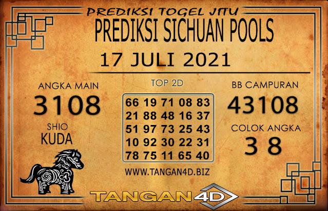 PREDIKSI TOGEL SICHUAN TANGAN4D 17 JULI 2021