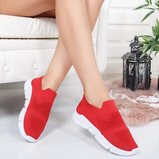 Pantofi sport Oncila rosii