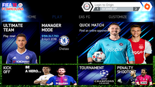 FIFA 18 Mod FIFA 14 Android Offline New Menu Best Graphics