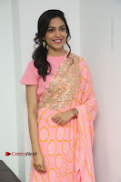 Actress Ritu Varma Pos in Beautiful Pink Anarkali Dress at at Keshava Movie Interview .COM 0339.JPG
