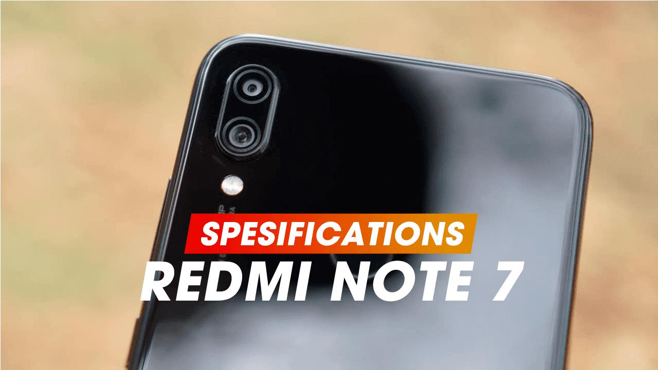 Full Specifications Xiaomi Redmi Note 7