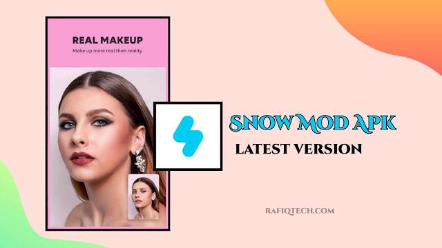 تحميل  تطبيق الكاميرا Snow mod APK - أحدث إصدار