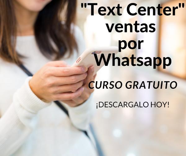 """CURSO """"Text Center"""" I Escribir para vender"""