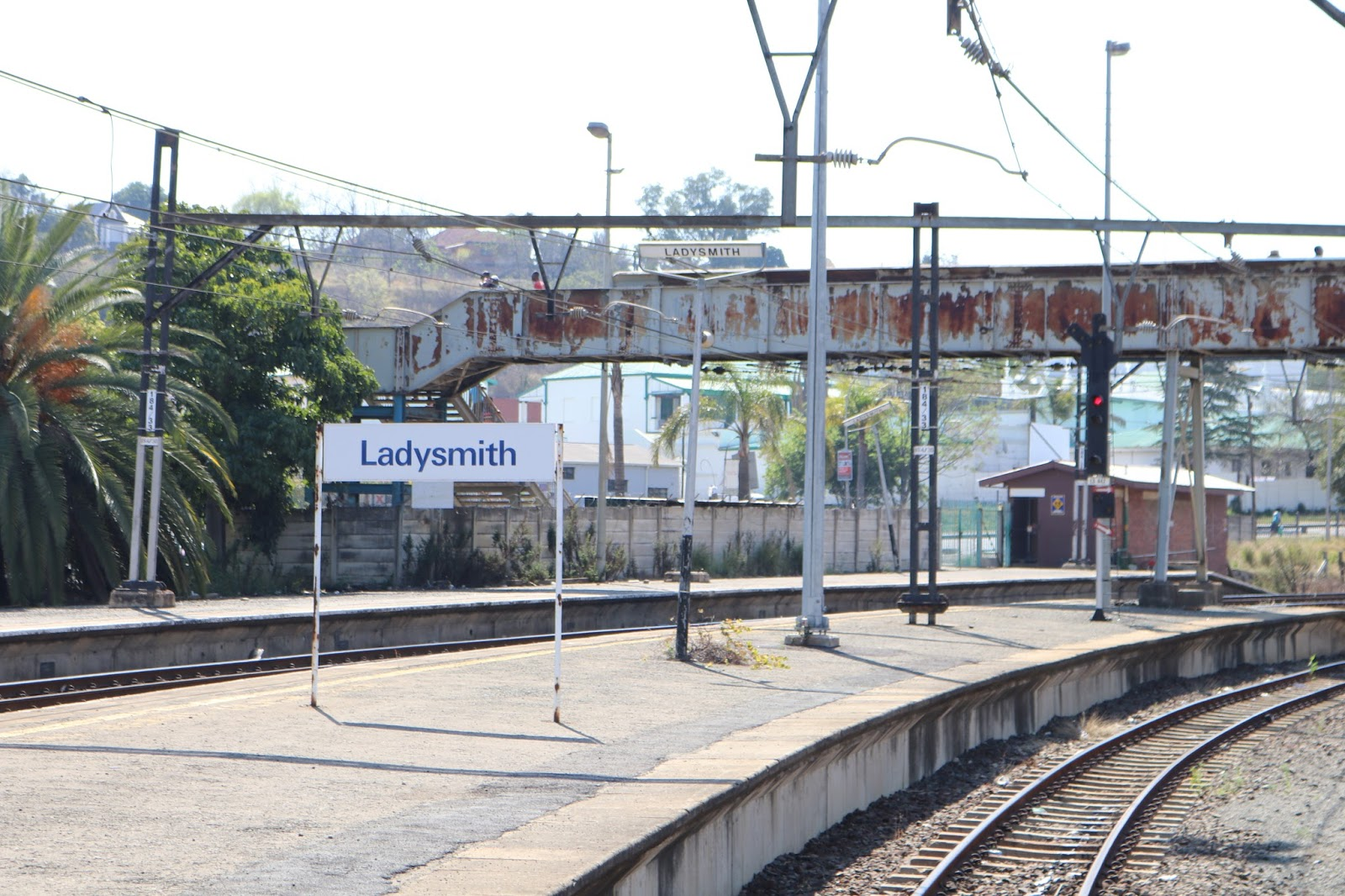 Ladysmith Station, South Africa from Rovos Rail