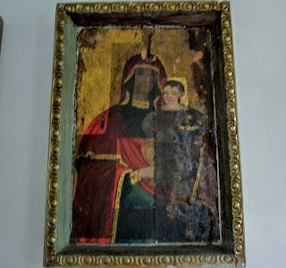 Руда. Музей Івана Виговського. Святий образ Божої Матері