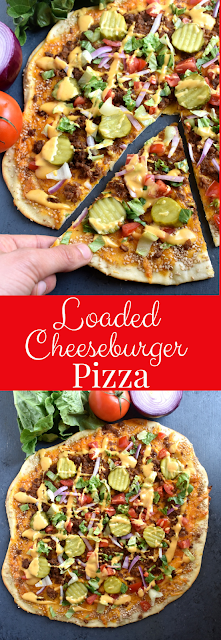Loaded Cheeseburger Pizza recipe