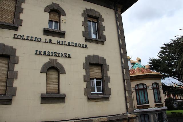 Instalaciones que utiliza actualmente el colegio La Milagrosa