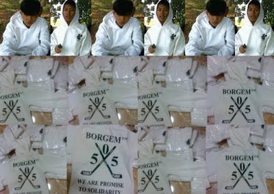Hoodie (Sweater Kupluk) BORGEM Community