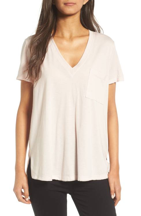 Lush side slit tees