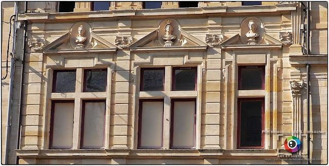 BAR-LE-DUC (55) - Hôtel particulier des Billaut (XVIIe siècle)