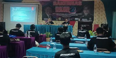 Tingkatkan Kemampuan Jurnalistik MCNN Adakan RAKERNAS Ke 2 Dengan Prokes