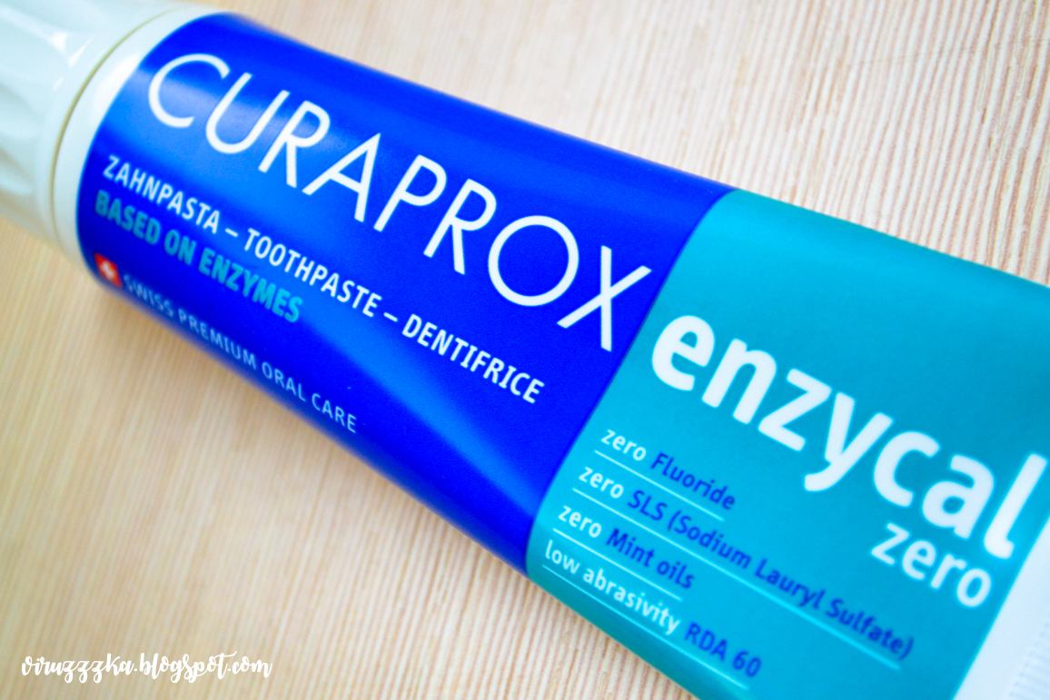 Curaprox Enzycal Zero Toothpaste Review & Swatches