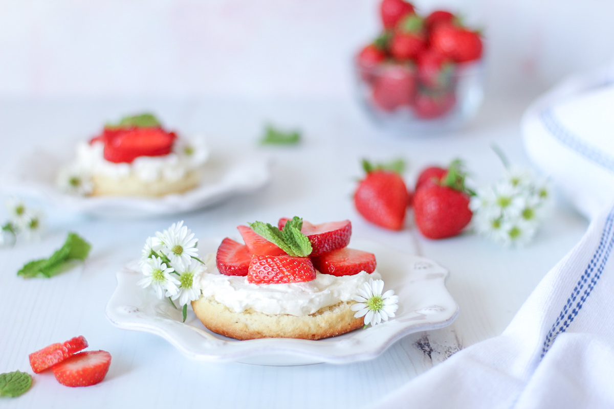 Homemade Strawberry Shortcakes