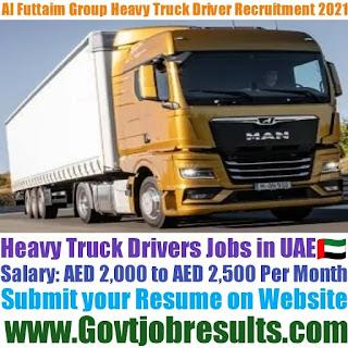 Al Futtaim Heavy Truck Driver Recruitment 2021-22