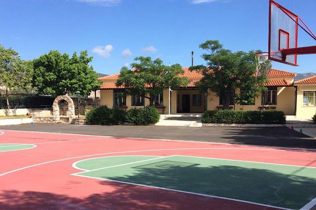Κατασκευή και διαμόρφωση του αύλειου χώρου του Δημοτικού Σχολείου Δήμαινας