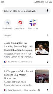 Rekomendasi berita google news