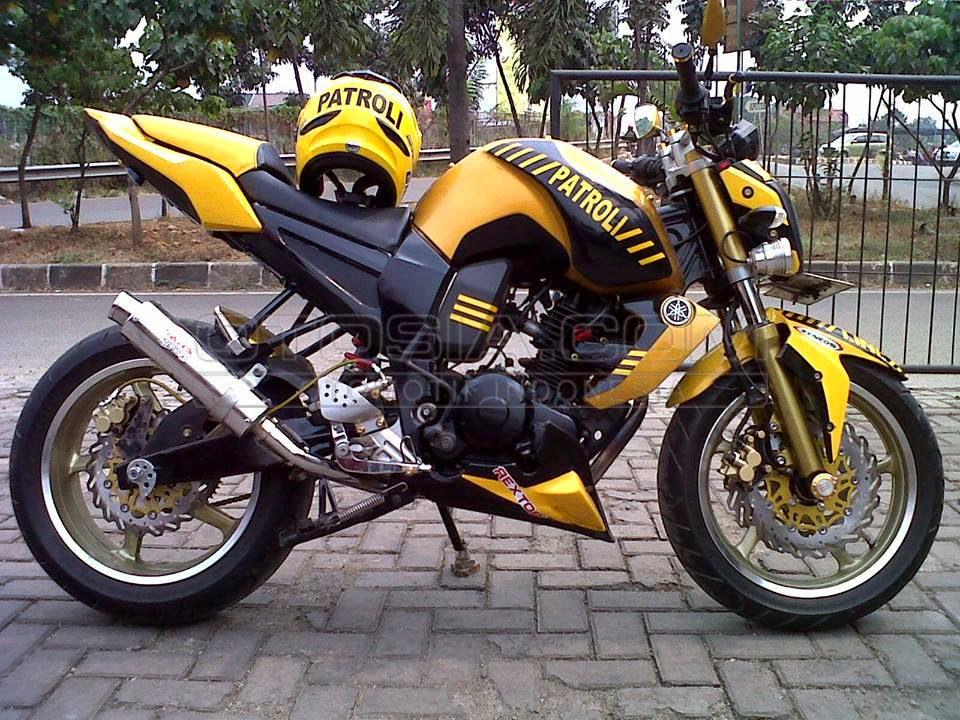 15+ Gambar Modif Motor Yamaha Terbaru Sport Modifikasi