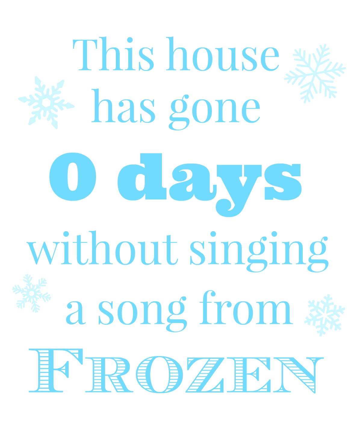 frozen movie printable