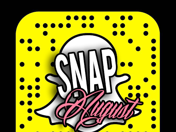 SNAPaugust: Август в Snapchat