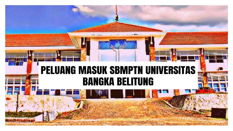 Peluang Masuk SBMPTN UBB 2021/2022 (Universitas Bangka Belitung)
