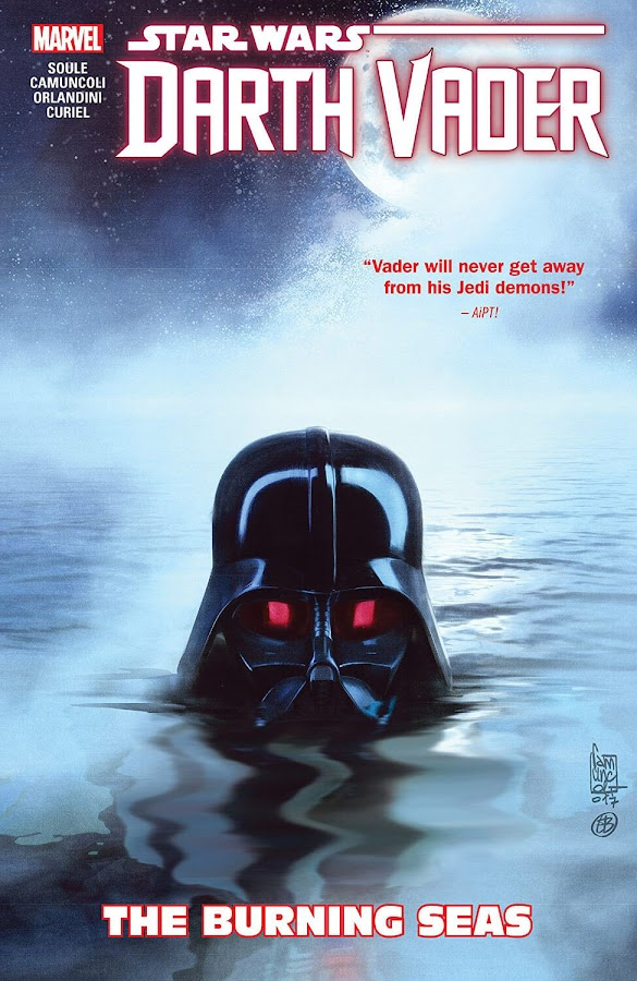 star wars darth vader the burning seas charles soule giuseppe camuncoli marvel comics