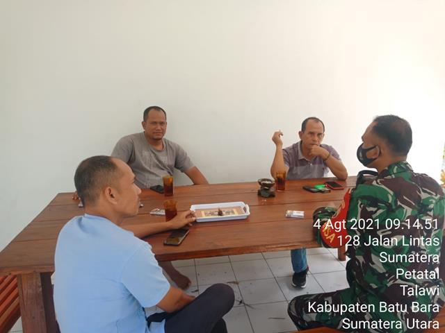 Himbau Patuhi Protokol Kesehatan, Personel Jajaran Kodim 0208/Asahan Laksanakan Komsos Bersama Warga Binaan