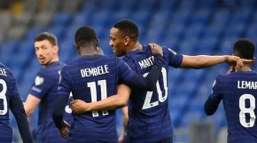 Deschamps: Dembele's on the right track