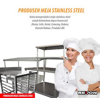 Jual Meja Stainless Steel Murah