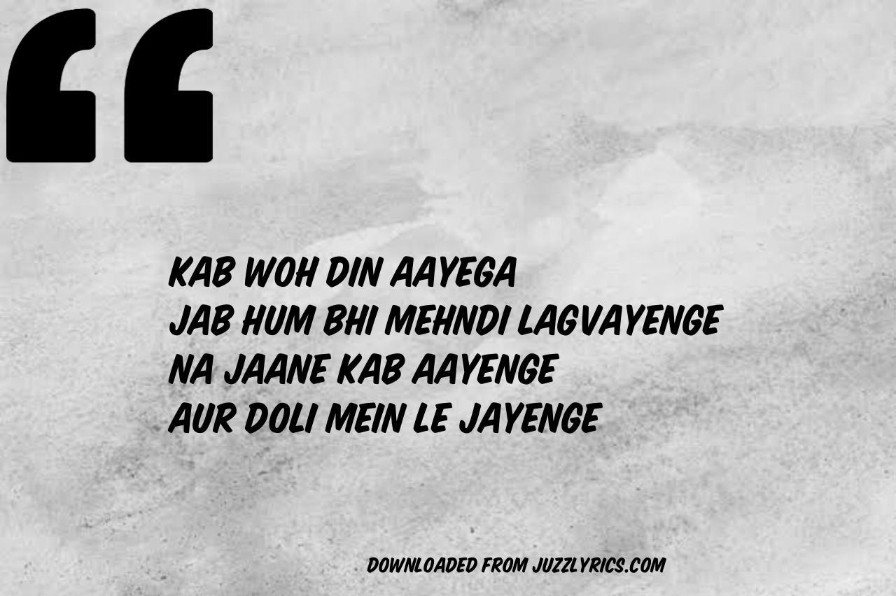 Yaad Piya Ki Aane Lagi Song Lyrics In English By Neha Kakkar Featuring Divya Khosla